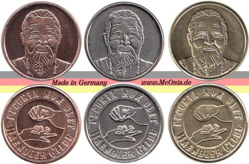 LARP-Münzen aus dem Hause McOnis